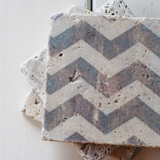 DIY Tile Coasters {with free download}