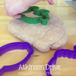 Oatmeal Pumpkin Pie Play-Dough