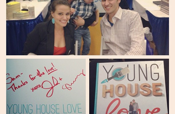 Young House Love Book Tour | Atkinson Drive