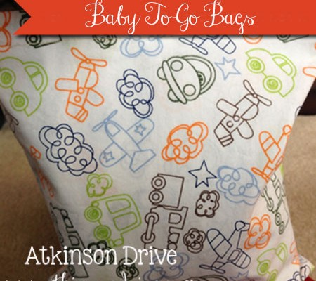 Baby To-Go Bags | Atkinson Drive