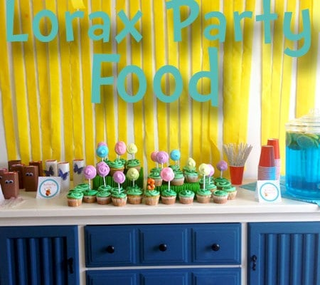 Lorax Party Food