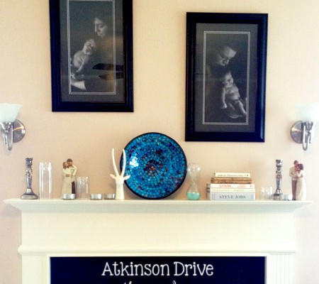 An Everyday Mantel | Atkinson Drive