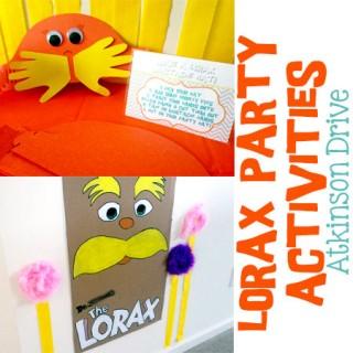 Lorax Activities for Kids