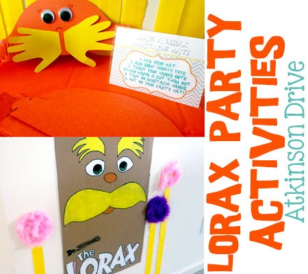 Lorax Party Activities | Atkinson Drive