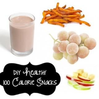 DIY {Healthy} 100 Calorie Snacks