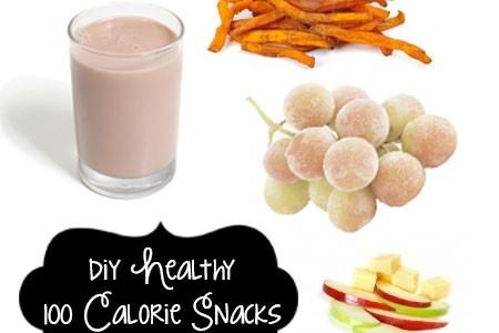 DIY Healthy 100 Calorie Snacks | Atkinson Drive