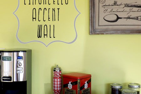 Limoncello Accent Wall | Atkinson Drive