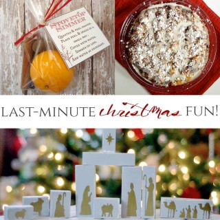 Last-Minute Christmas Fun! (link party features)