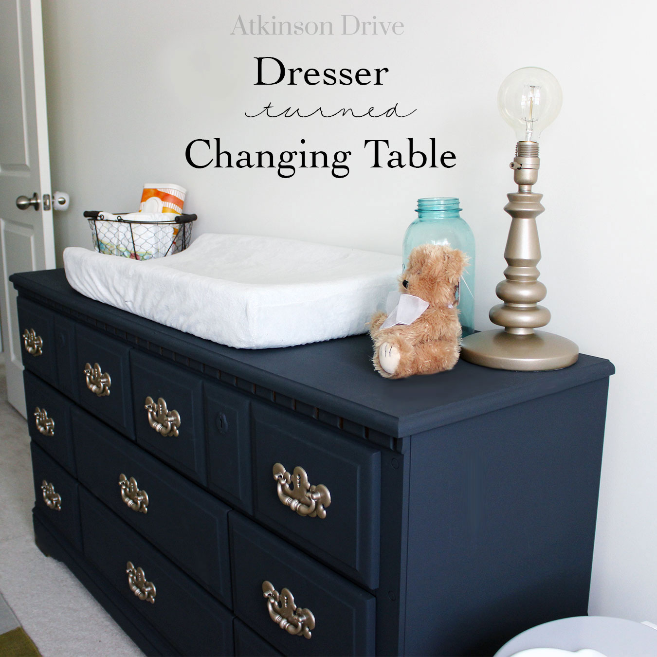 Dresser to Changing Table: Upcycle