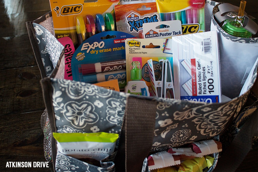 Back to School: Teacher Survival Kit (and a 31 Giveaway) | Atkinson Drive