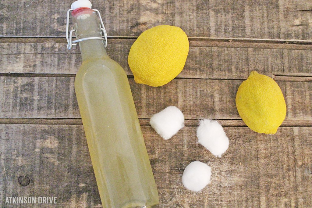 DIY Skin Freshening #Toner (using ingredients from your pantry) by Atkinson Drive #skincare #beauty