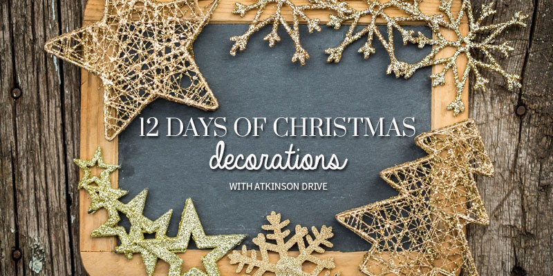 "Get ready for Christmas with ""12 Days of Christmas Decorations"" that you can make yourself!"