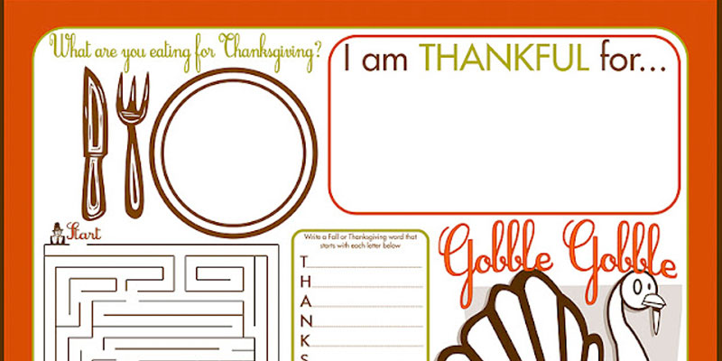 Express your gratitude this Thanksgiving with these beautiful printables /// by Atkinson Drive