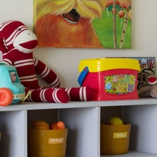 Stylish Storage for Kid Spaces